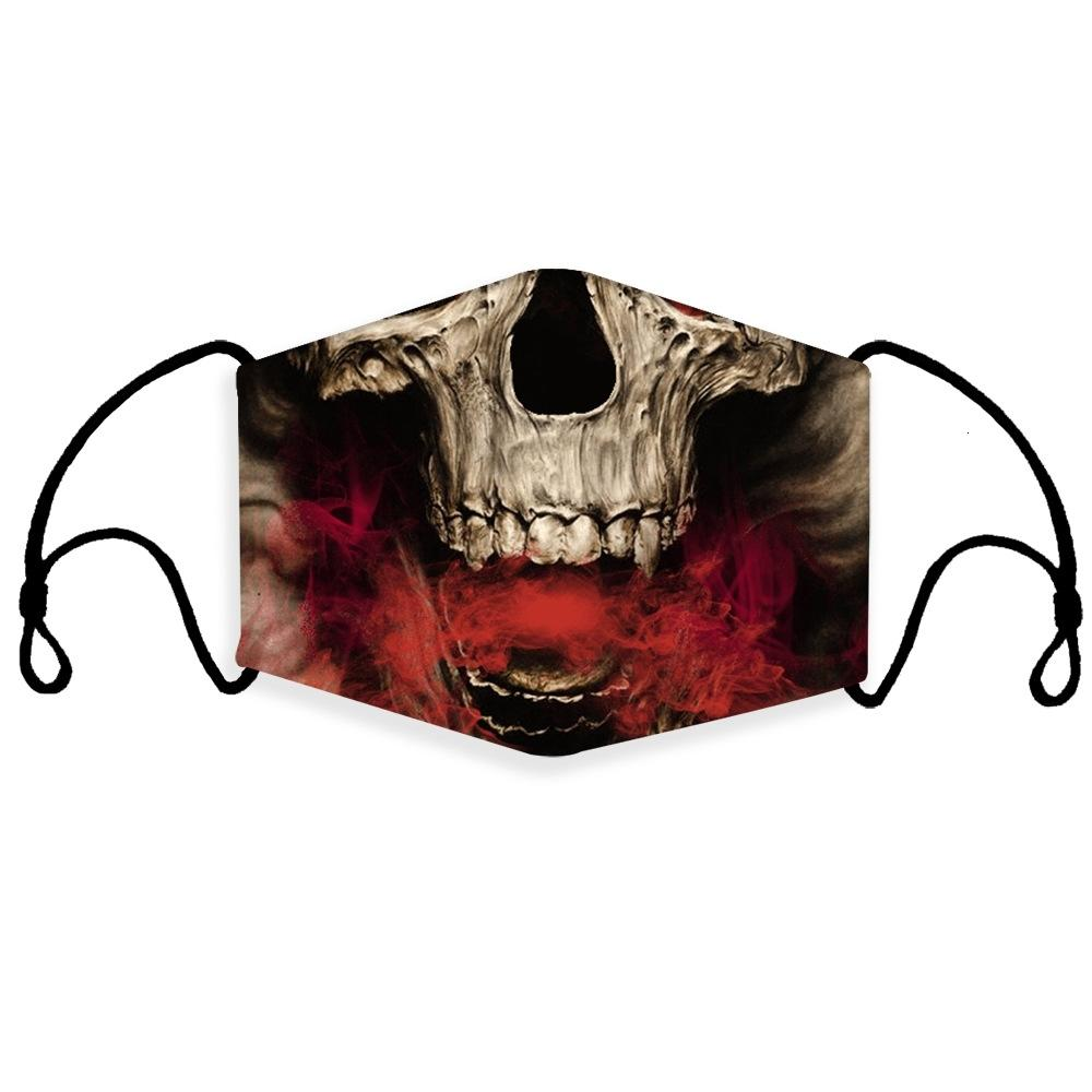 Macia facial 3D Respirar máscara máscaras Dustproof Válvula esponja lavável reutilizável Anti-pó Nevoeiro PM2.5 protecção Preto Ups # 323