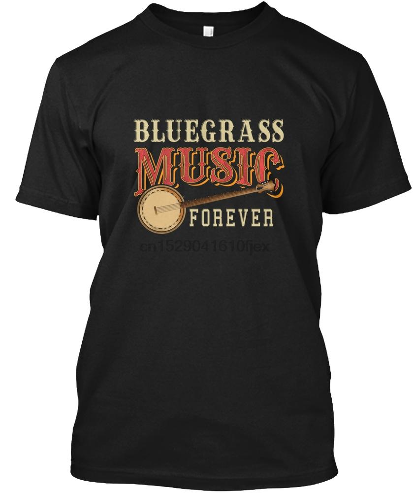 Männer T-Shirt Bluegrass-Musik Banjo Langarm T Shir shirts Frauen T-Shirt