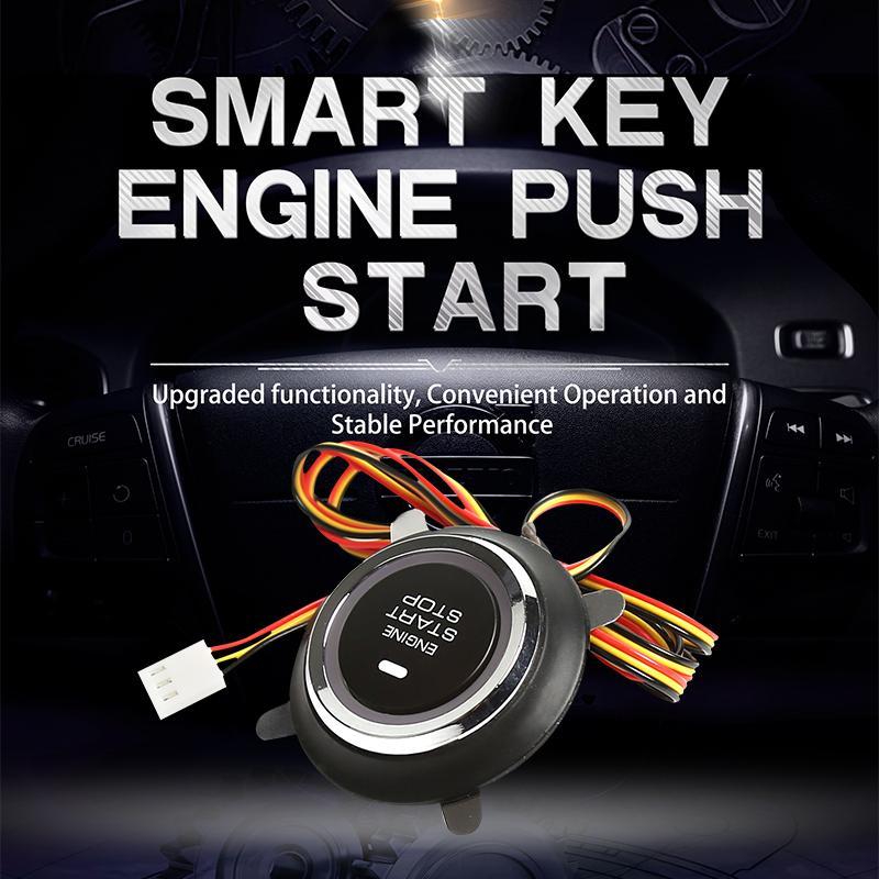 9001 Chave Inteligente impulso motor de arranque, começo remoto do motor, Auto braço carro