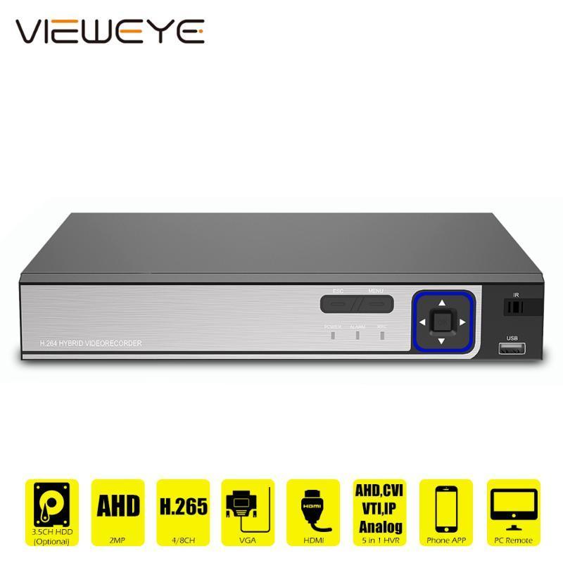 6 В 1 H.265 5MP-N AHD DVR NVR XVR CCTV 8Ch AHD-H 1080P 4MP 5MP Гибридный безопасности DVR рекордер камеры Onvif XVI Coxial P2P Xmeye
