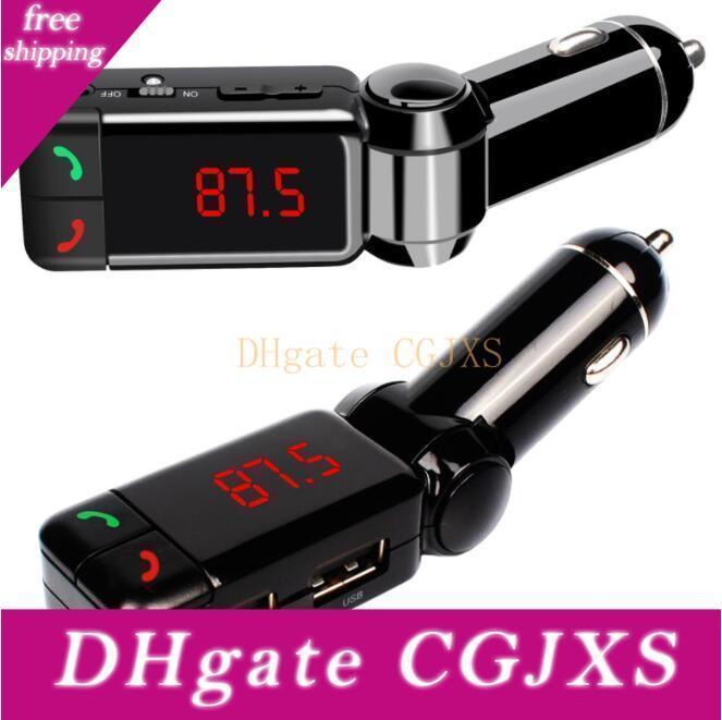 100шт Горячие Bc06b Wireless автомобилей Руки -Free звонки Bluetooth Fm передатчик Радио адаптер MP3-плеер приемник USB зарядный Dhl Бесплатная доставка