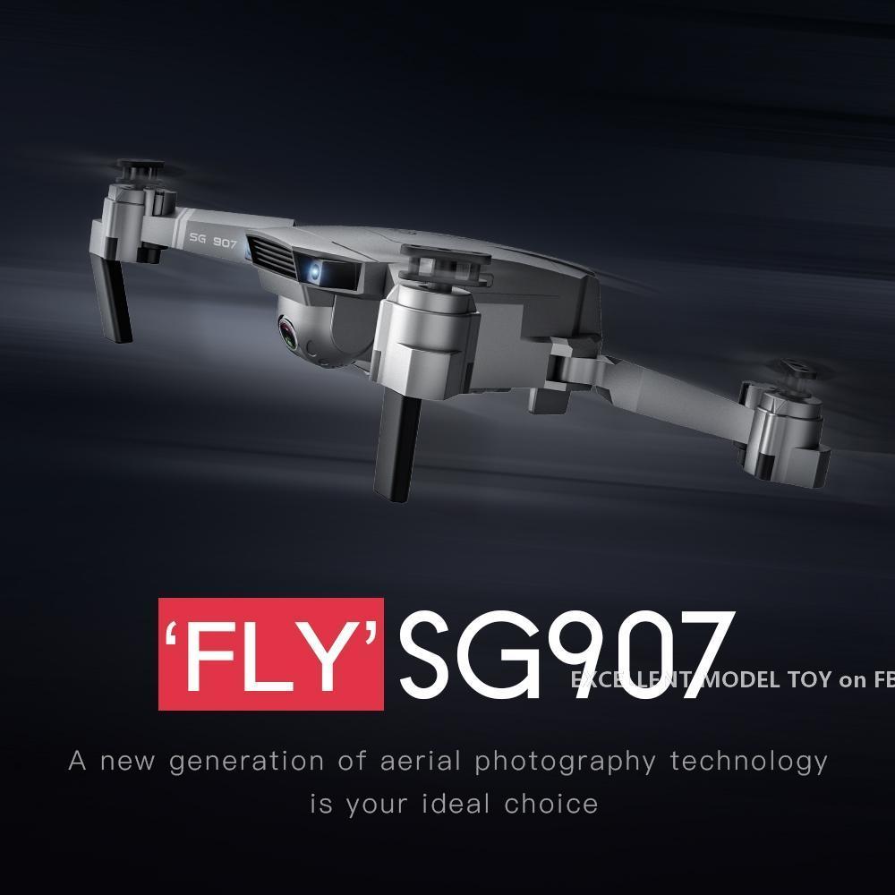 SG907 4K HD ELECTRISCHE 90 ° -Anschlusskamera 5G WIFI FPV DRONE, GPS Optische Fluss Doppelpositionierung, intelligentes Folgen, Verlustschutz, 2-1