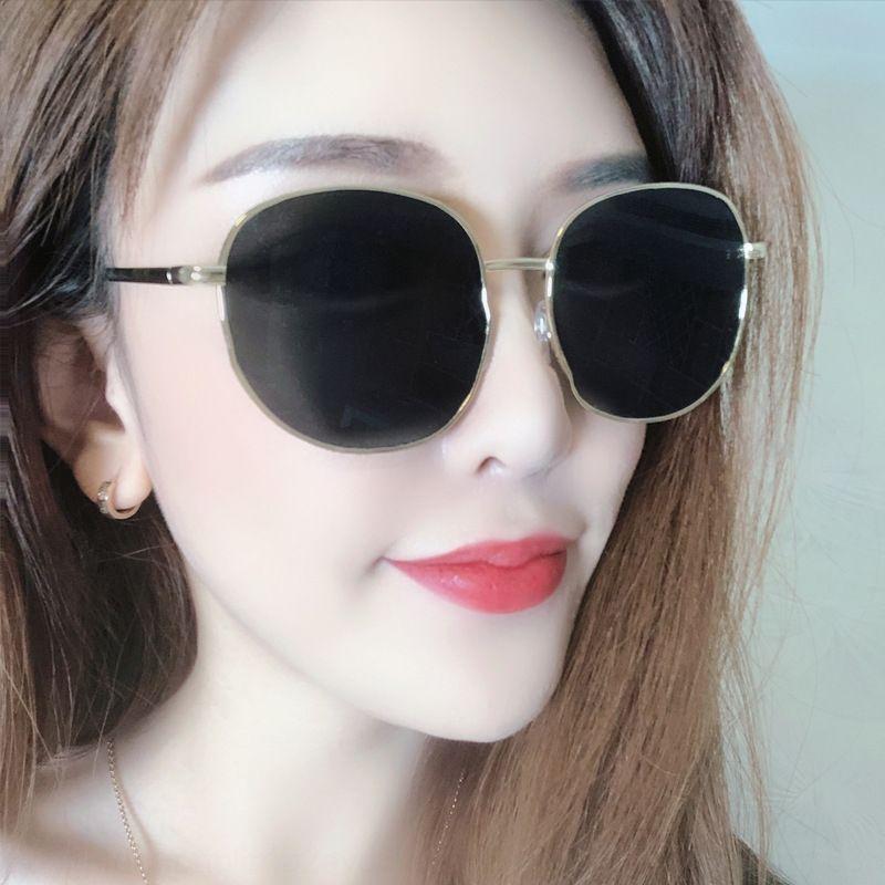EbZ22 круглого лица большого лица похудение глаз 2020 модных люди TikTok интернет красных солнцезащитные очки вождение солнцезащитных очки уличного выстрел