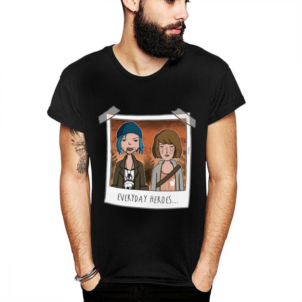 camisa da vida Estranho T Is Camiseta engraçado gráfico doente Strange World Tees Big Man Especiais Tamanho Homme Camiseta