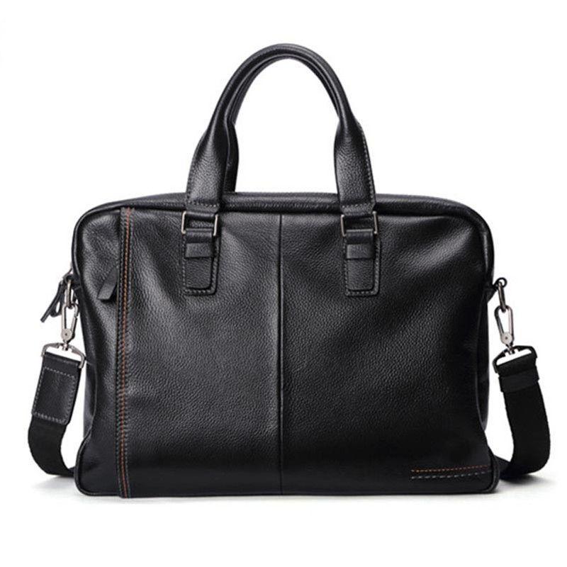 Männer Laptop Neue Aktentaschen Tasche Leder Vintage 2020 Herren Tasche England Postman Schulter Schulter APXVR