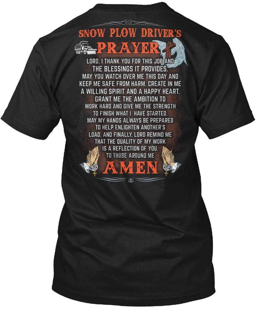 Männer-T-Shirt Faithful Snow Plow Fahrer Shirt Frauen-T-Shirt