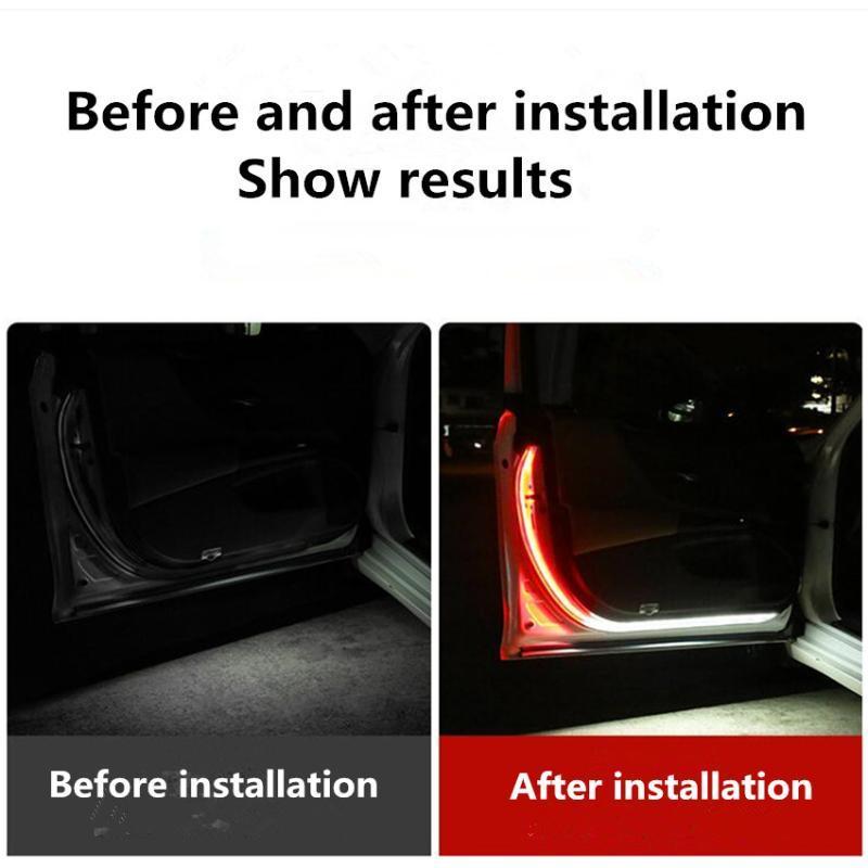 Luzes Porta de Carro Aviso Luz de Segurança Anti-colisão para BYD F3 F0 S6 S7 E5 E6 M6 G3 F3 G5 T3 13 Lifan x60 X50 620 320 520 125CC