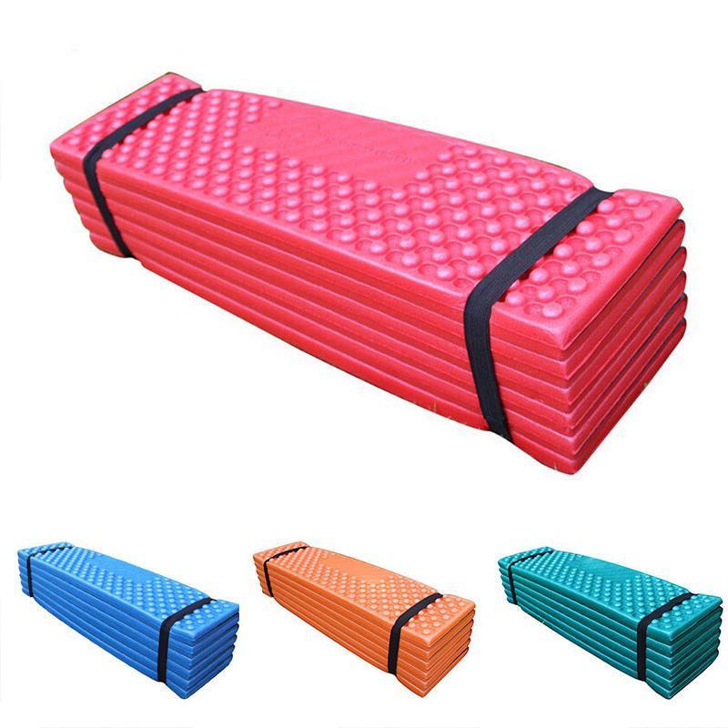 초경량 폼 야외 캠핑 매트 쉬운 접는 비치 텐트 슬리핑 패드 방수 매트리스 190x57x2cm