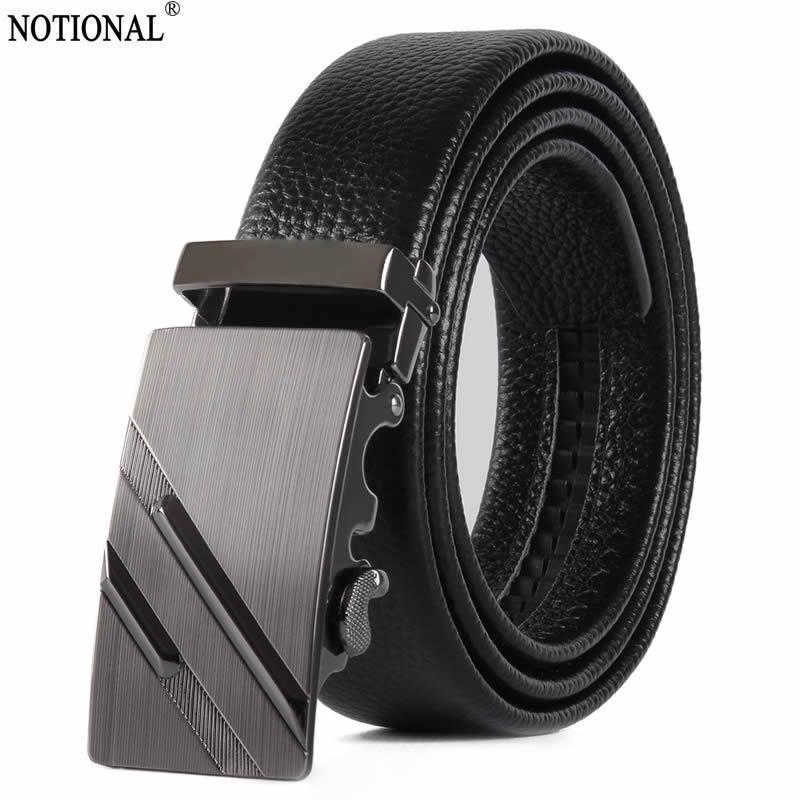 Cinture nozionali da uomo cintura in pelle da uomo moda designer di alta qualità 2021 coreano nero NX9257