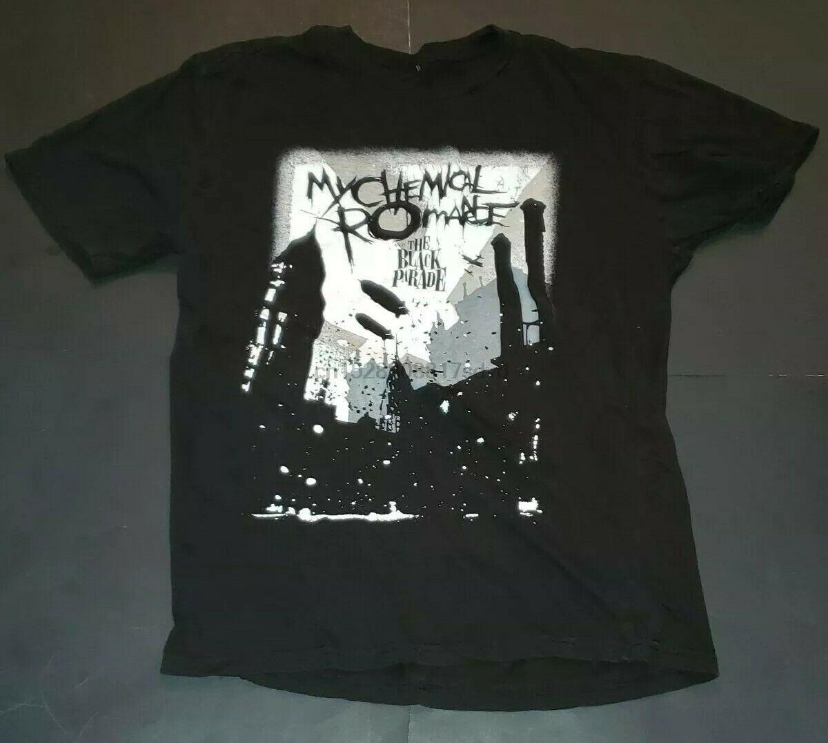 My Chemical Romance Parade maglietta No Tags Taglia M L vedi foto Per Misure 100% cotone T-shirt