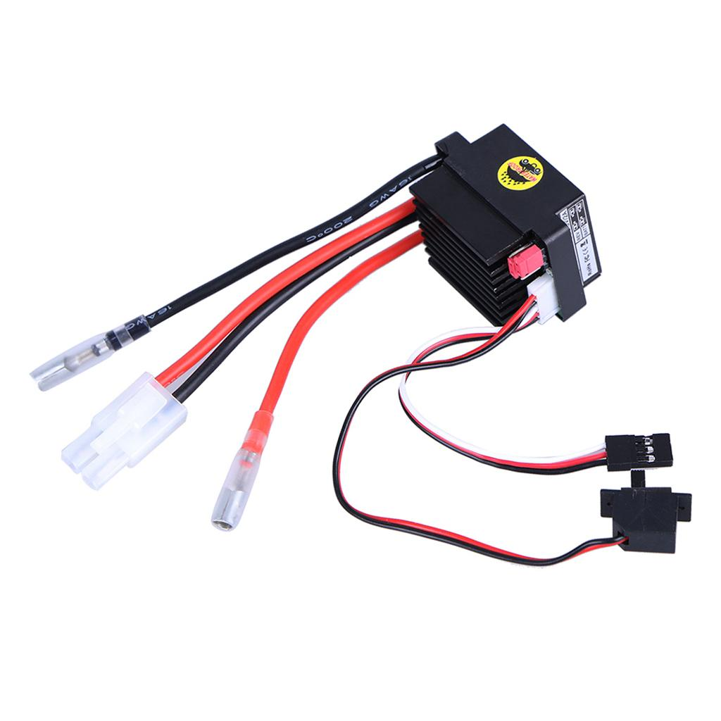 DYS Brushed ESC 320A ESC 3S LiPo Waterproof Two-way BEC5.6V 2A for HSP 1 10 1 12 RC Cars Buggies Trucks Rock Crawlers