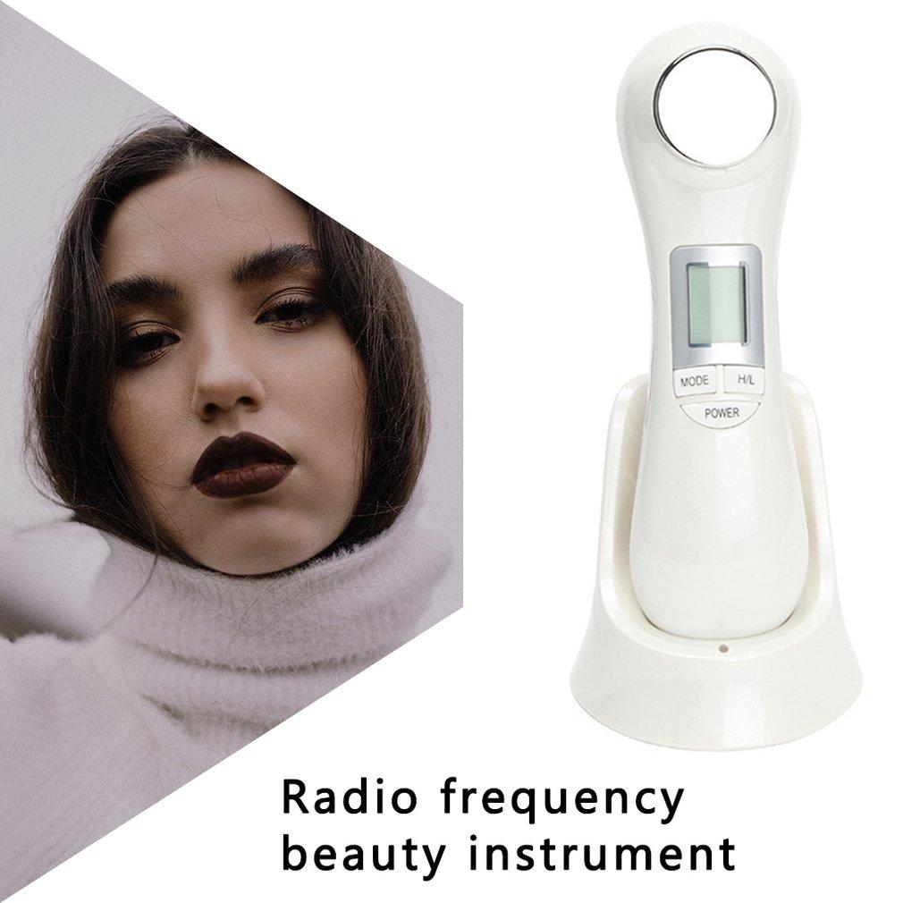Usb Charging Beauty Instrument Micro Current Rf Radio Frequency Electroporation Technology Rf Radio Frequency ToolRabin