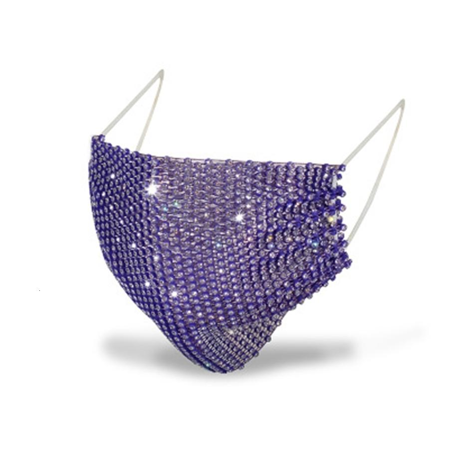 Requins Pattern populaires Masque Splicing Nouvelle couleur Bouche Er Homme Femme créative diamant Mode Masques Factory Direct Selling 5 65ch P1 # 612