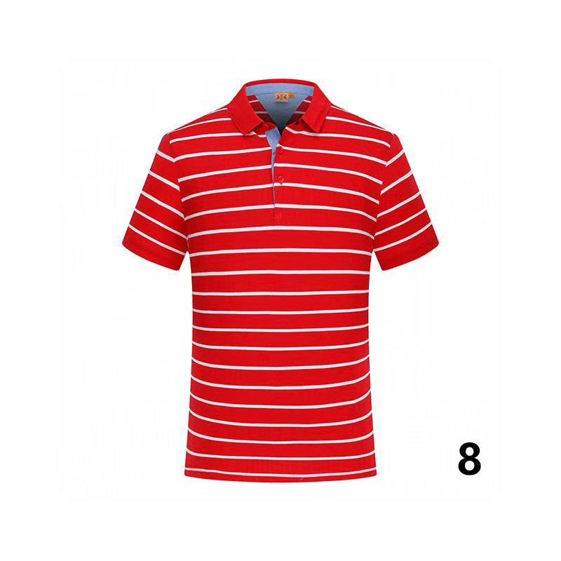 20-29 cotone di estate di colore solido nuovo stile di polo di alta qualità fabbrica polo uomo luxury1 uomini di marca in vendita