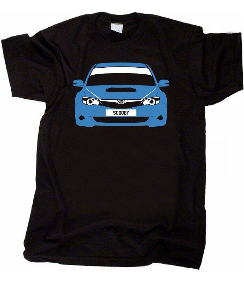 Japonais personnalisé T-shirt classique de voiture Impreza Gen (2008- 3Rd) Décrocher voiture 2019 T-shirt pour hommes 100% coton pour hommes T-shirt