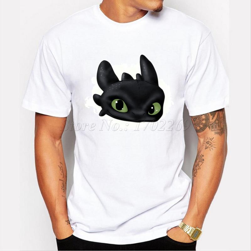 Asya Boyut moda erkek t shirt dişsiz sevimli hayvan tişörtleri kısa kollu rahat yenilikçi komik serin üstleri baskılı 3D
