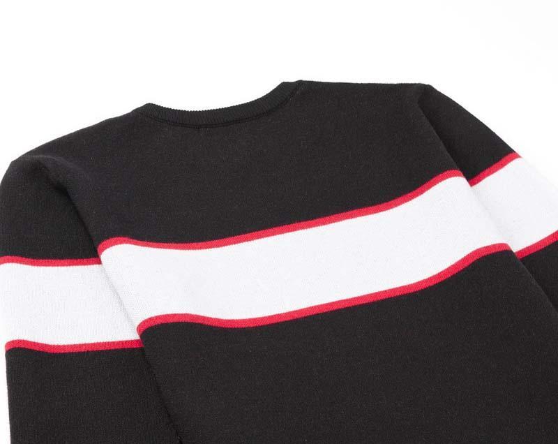 Мужской мода Мужских свитеров осени Письма вышивка Crew Neck Свитер верхнего качество Повседневный Пот мужчины пуловер Кофта размер M-2XL