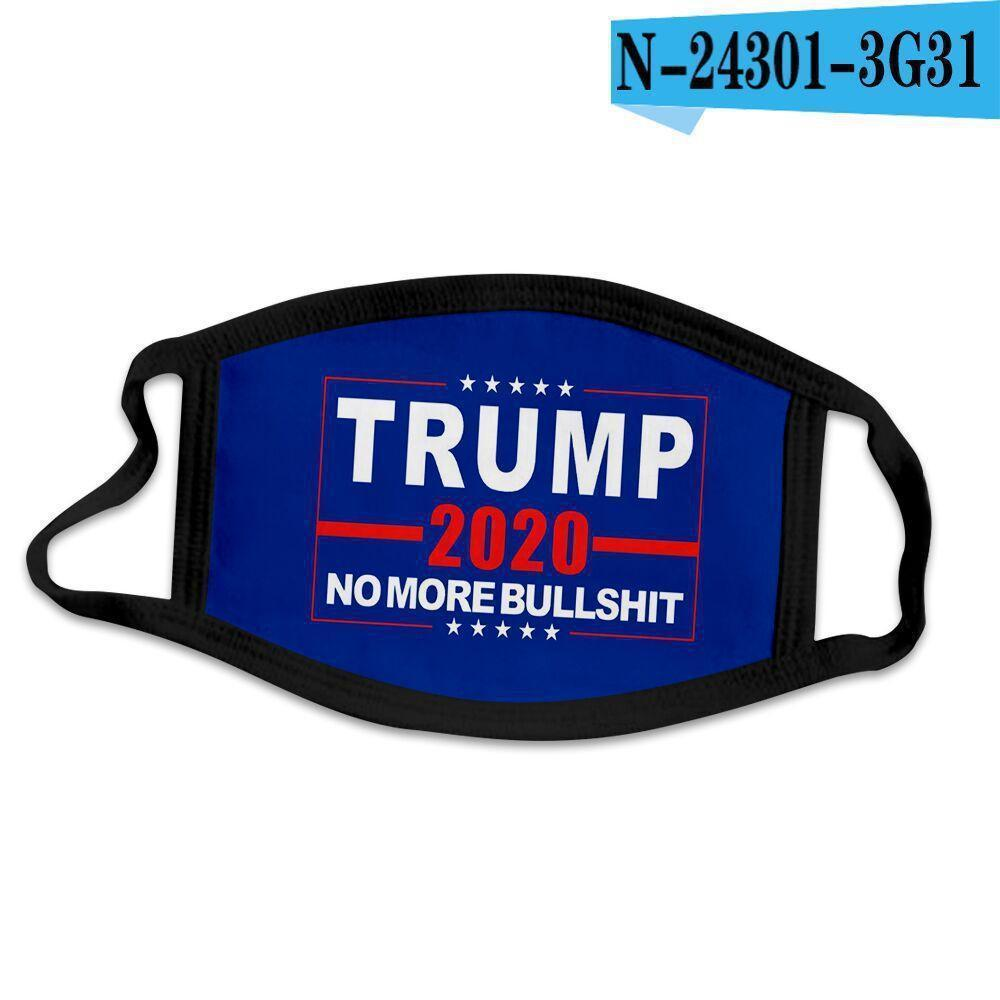 Cotton Trump 2020 Eleição face Keep America Grande Biden Partido Cosplay Máscaras Anti Poeira Poluição laváveis respirável cobrir a boca Fy900
