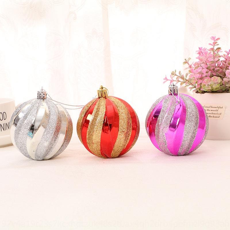 Рождество ручная роспись высококачественная нить цветной шар украшение елки декоративный кулон цветной шар аксессуары accessoriesornamen
