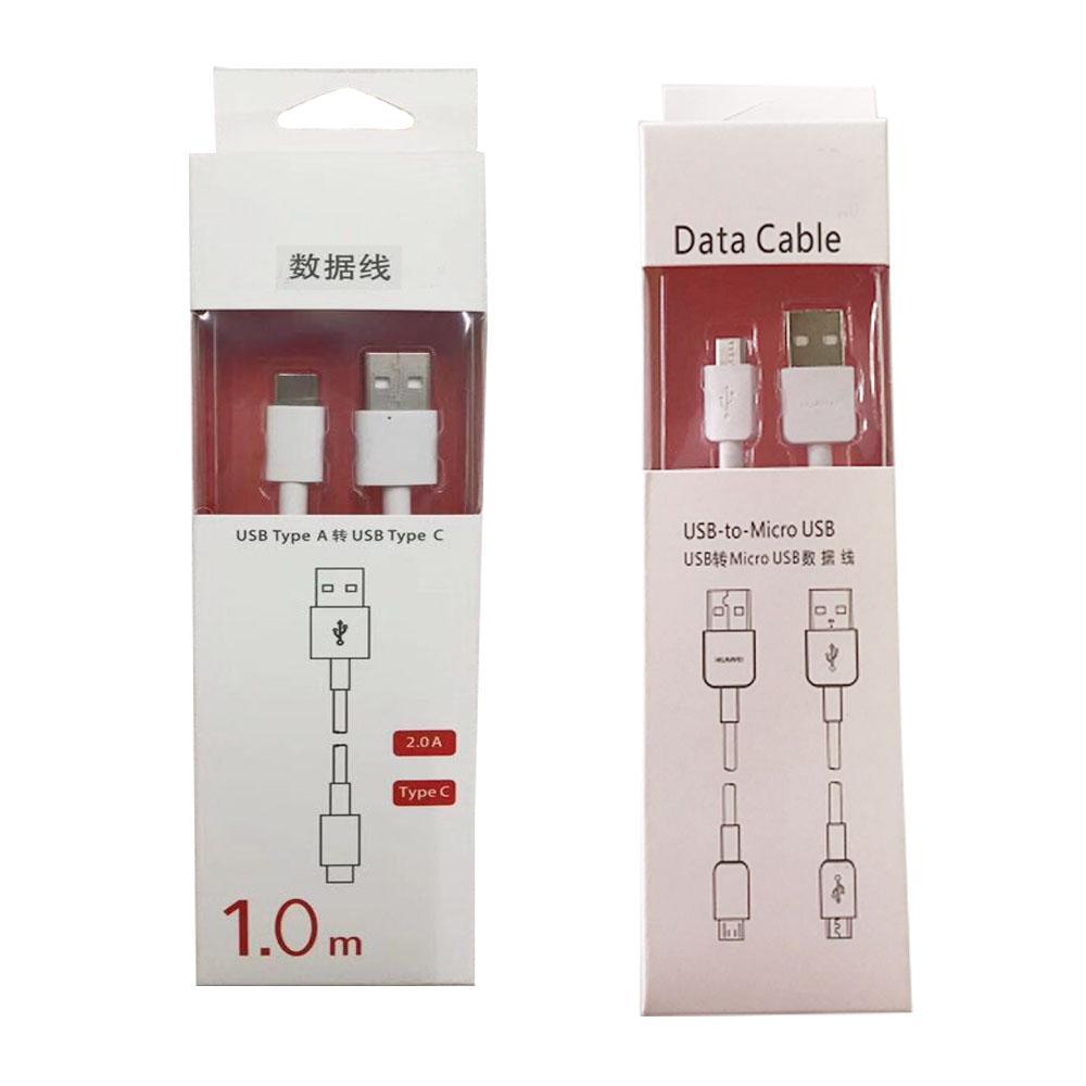 USB original de Super Fast cargador de tipo C por cable micro USB 2.0 de sincronización de datos de Carga Rápida para Huawei mate 10 20 30 Pro P30 P40 P9 P8 honor Android