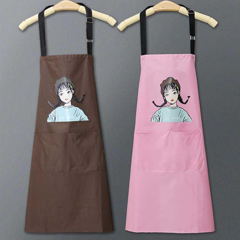 أسرة رقيقة ساحة المطبخ للماء ومقاومة للنفط الصيف لطيف فتاة صغيرة اليابانية رقيقة جدا