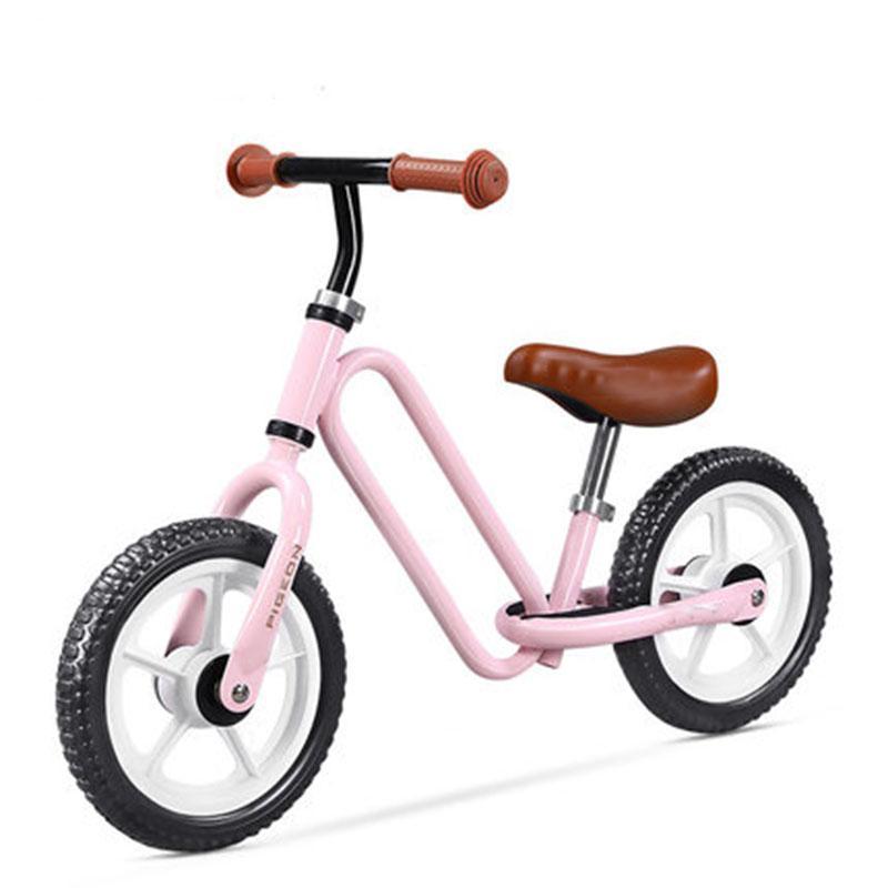 de 12 polegadas Dois Filhos metal roda de balanço bicicleta Novo produto de alta qualidade sem Pedal Deslize Sense Walker para passeio Kids on Toys