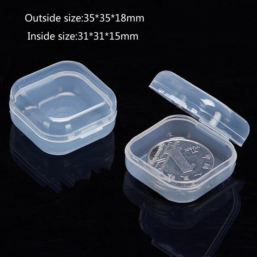 1pc Nouveau Bijoux Portable Boîte à outils Container anneau composants électroniques Perles vis boîte de rangement