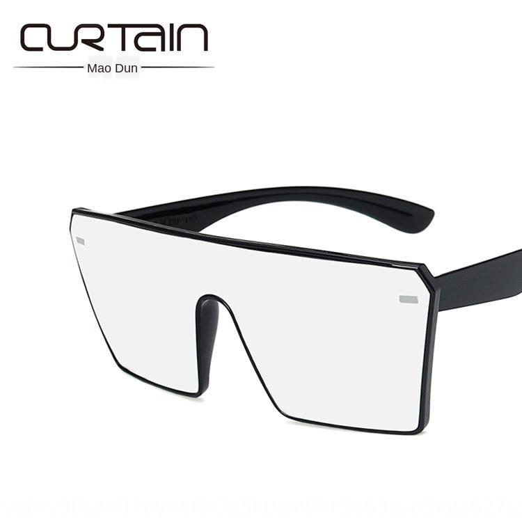 5Ucd4 Grande cornice quadrata chiodo un pezzo del sole 2020 nuova moda gli occhiali da sole alla moda degli occhiali da sole personalizzati versatile
