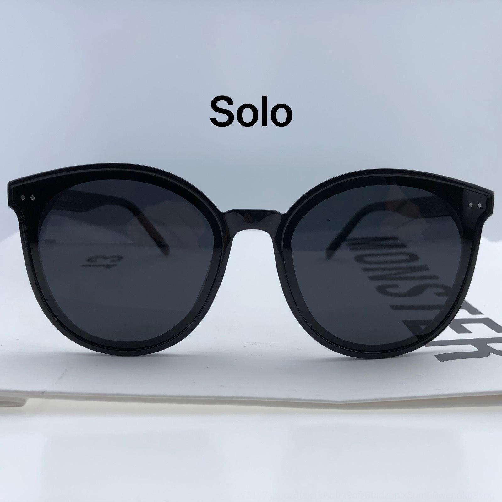 4dsgK 2020 GM nuovo polarizzato Sun Sun Qi Wei occhiali da sole stessa V-marca per i grandi occhiali da sole faccia dimagranti le donne di stile coreano