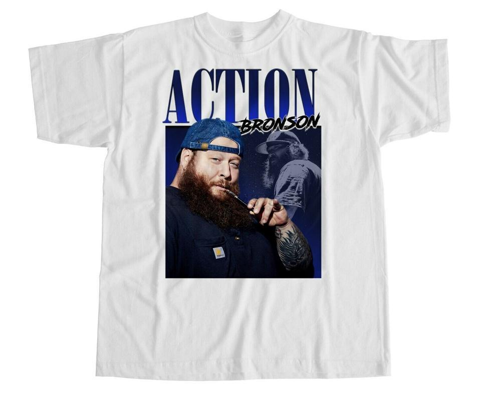 Eylem Bronson Tişörtlü Tekne Gıda Luv Yaşam Mugshot Hip Hop Rap Yeni Lezzetli Sıcak Yaz Casual Tee Gömlek