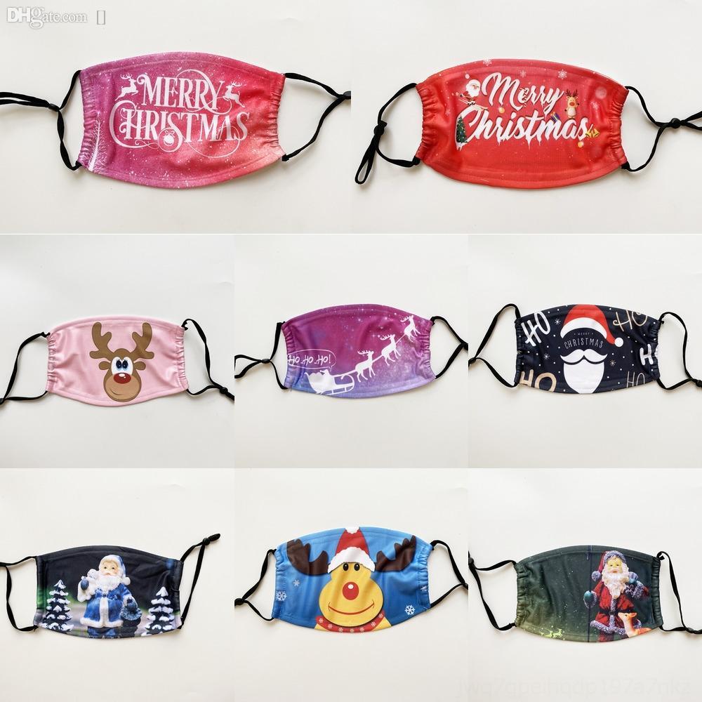 aNbKu s lavable Earloop envío para la máscara de la cara AdultDust Máscaras de Navidad de Navidad de la cubierta al aire libre a prueba de viento contra Boca Mujeres La