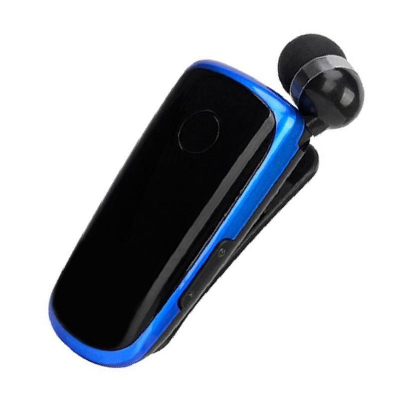 K39 Mini portátil Earset sem fio Bluetooth 4.1 fone de ouvido In-Ear Headset Alerta vibratório Wear Clipe mãos livres para telefone