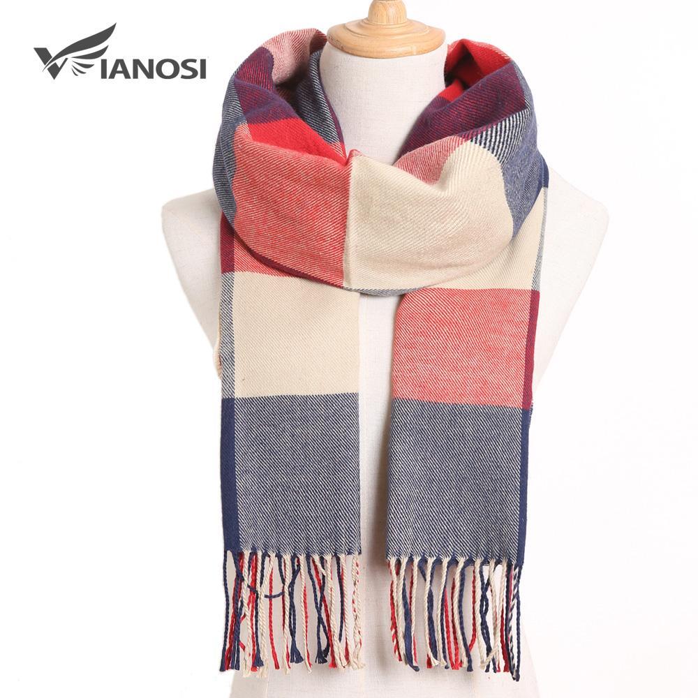 2019 tela escocesa la bufanda del invierno de las mujeres caliente Foulard sólido bufandas de la manera informal de las bufandas de cachemira Hombre Bufandas