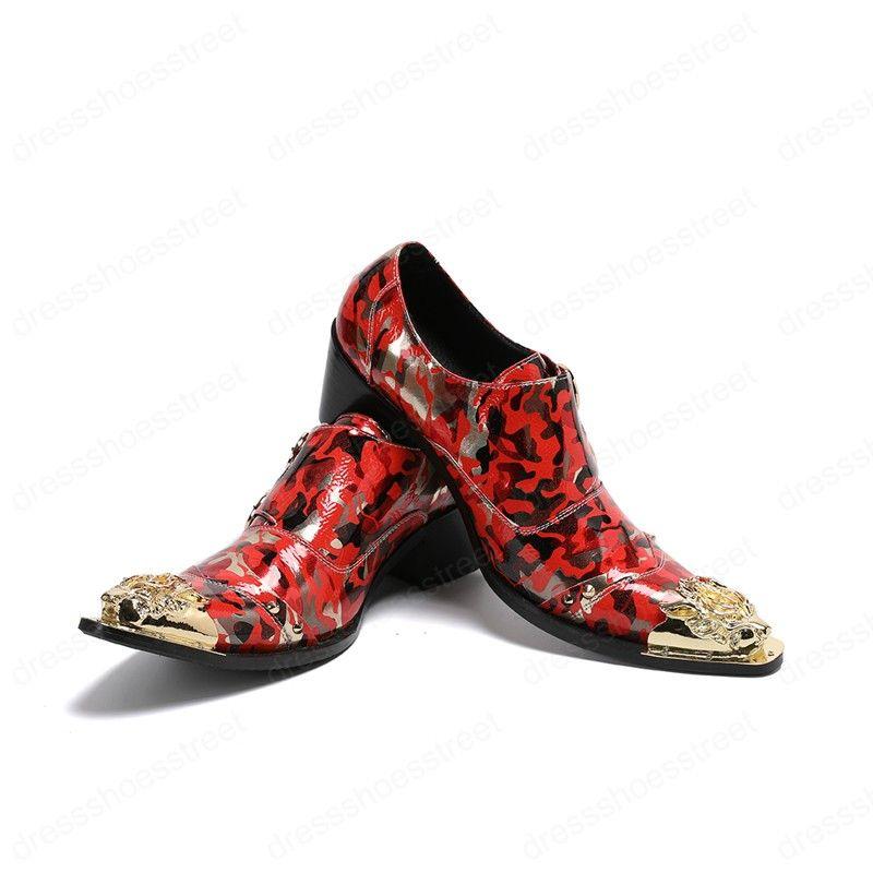 Chaussures en cuir véritable Hommes d'affaires Robe Chaussures style britannique rétro haute Augmenter Oxfords Chaussures pour hommes