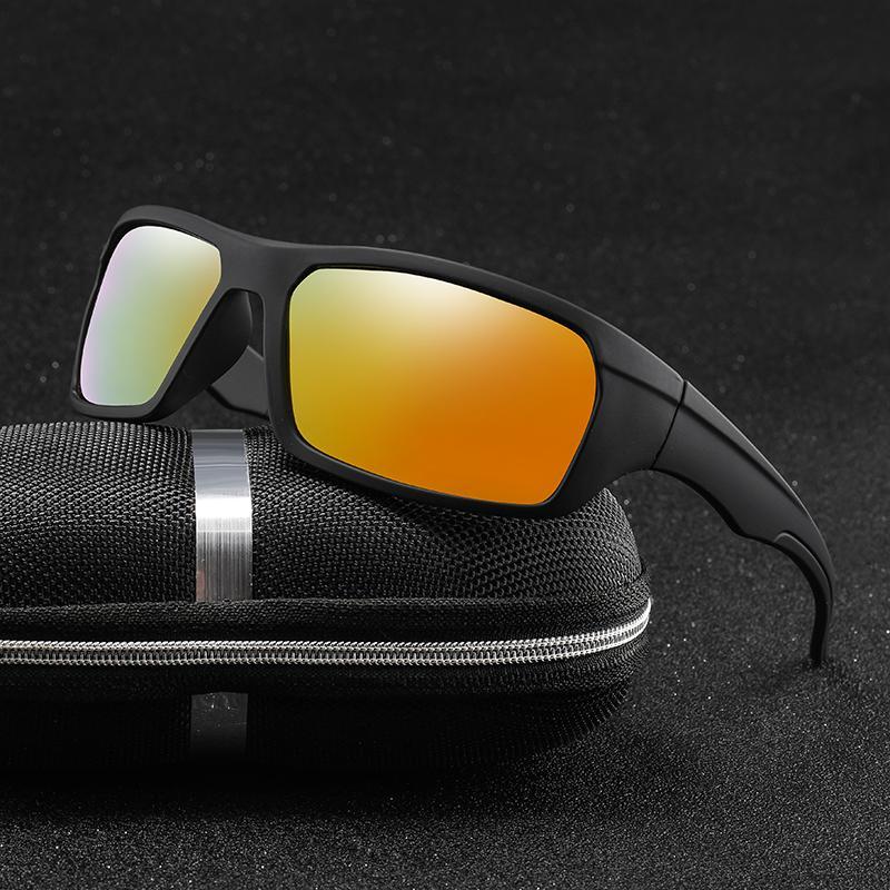 Klassische Männer Sonnenbrille Marke Shades Design Fahrer Sonnenbrille Retro Brille Sonne Männlich UV400 Polarisierte Eyewear Swucl