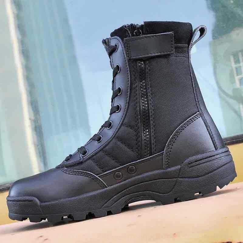 zTv9W swat combat boots outdoor high-top breathable tactical shoes swat combat boots outdoor high-top breathable tactical shoes