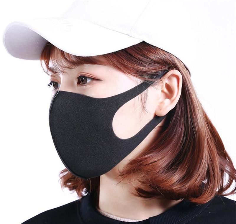 DHL maschera protettiva riutilizzabile libero azione! Antipolvere lavabile Sun Seta Spedizione maschere di cotone in antibatterico Ice faccia Dh_niceshop PLW