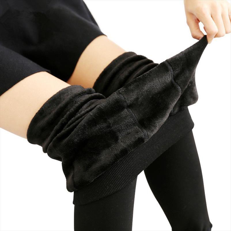 Legging Femme inverno Leggings Velvet Mulheres Quente Calças Leggins cintura alta Grosso Legging Inverno Pant Calças Mulheres
