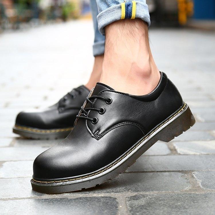 Oxford Shoes Big Size Marca respirável Homens Vestido Top qualidade sapatos Homens Flats Moda couro genuíno Trabalho Casual