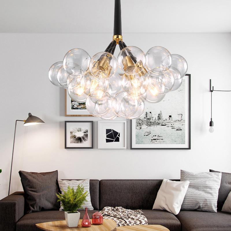 Hierba llevada moderna iluminación de la lámpara de la sala del dormitorio Lámparas creativo Inicio Iluminación AC110V / 220V envío