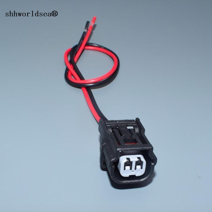 shhworldsea 2 pino fêmea automóvel eléctrico impermeável cablagem do conector 6189-6905 6189-7036 carro