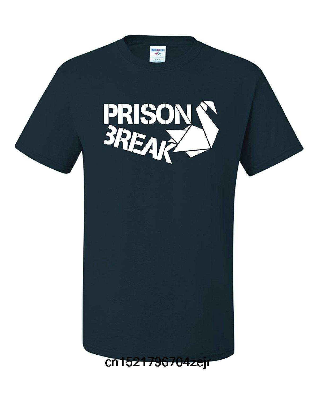 T shirt Uomo PRISON BREAK DI CARTA DEL CIGNO stagione 5 UNISEX donne divertente maglietta novità tshirt