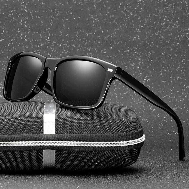 Para los hombres Diseño Sun Square Gafas de sol Gafas Marca Menores Hombre Conducción Sombras Gafas Gafas Eyewear UV400 PAHPF PAHPF UV400