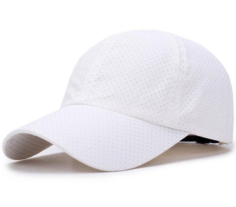 Hommes Femmes Casquette de baseball unisexe solide Quick Dry Sun Hat55