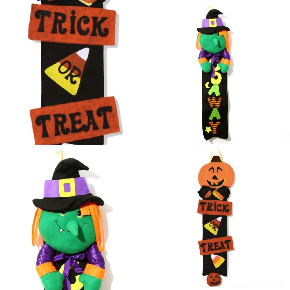 nL2R5 Puppe Dekoration Hexe Halloween Haus Hotelmarkt kreativer Kürbis Ornament Kürbis Maskerade prop Partei suppliesship