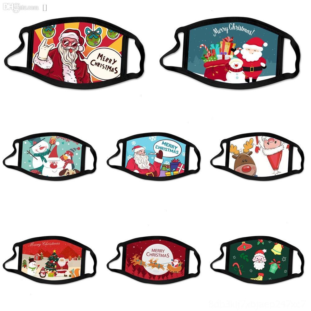 kkdEi Доставка Санта-Клаус снеговика Снегопад Рождество XZ Регулируемая WashableSafety уха анти пыль Лицо Рождество уклонялся Дети с маской Маски Lo