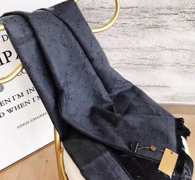 Scrapeur de cachemire d'hiver design Pashmina pour femmes de haute qualité Marque de la laine de marque Foulard chaleureuse Femmes Femmes Cashmere Long Long Câtawl Wrap Foulards 180x70cm