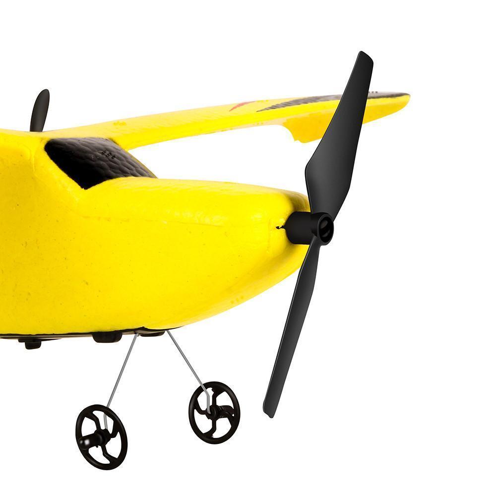 Rc avión con Z50 Gyro RTF control remoto planeador 350mm Envergadura Epp Micro avión RC cubierta Flying Time batería # YL1