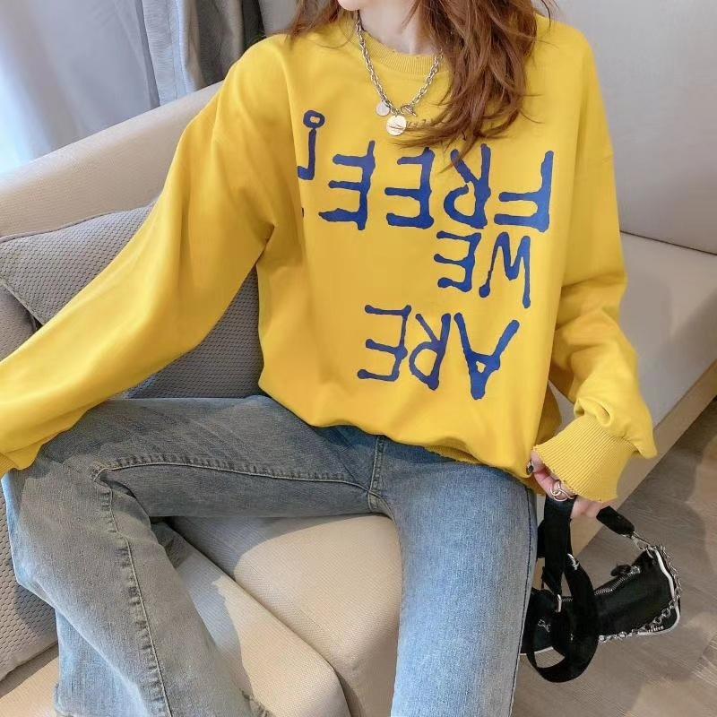 m8rYd Frauen Farbe pulloverCandy Pullover Frühjahr Herbst gedruckt 2020 neue koreanische Karikatur und Pullover lose Süßigkeiten Pullover OYLc0
