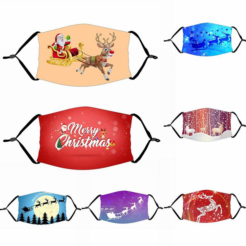 Party Frohe Weihnachten Geschenk Weihnachten Dekorationen für Home Weihnachtsdekor Navidad Dekor Santa Claus Weihnachtshirschbär Frohes Neues Jahr 2021